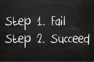 step 1 fail with goals. step 2 succeed with goals
